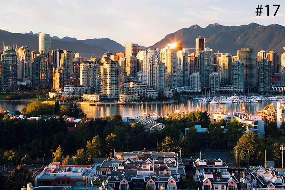 <strong>17. Vancouver</strong><br>