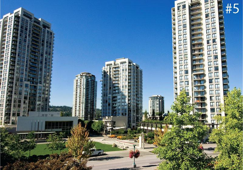 <strong>5. Coquitlam</strong><br>