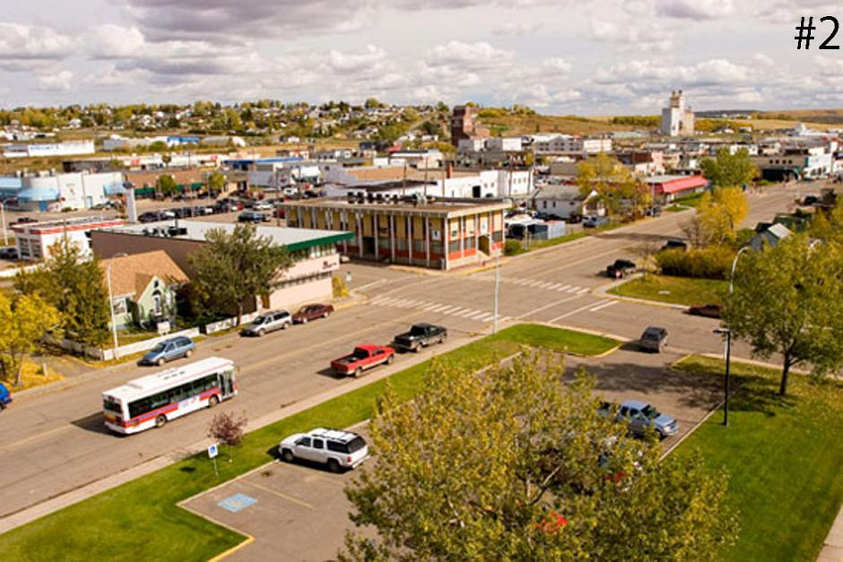 <strong>2. Dawson Creek</strong><br>