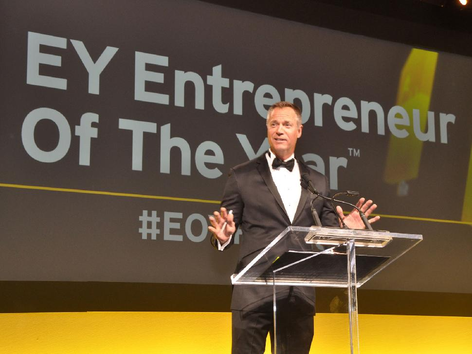 EY Entrepreneur of the Year Awards Pacific Region 2016