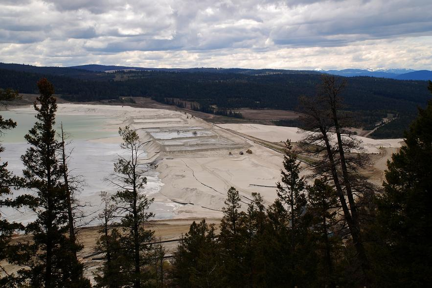 Highland Valley Copper Tailings Dam