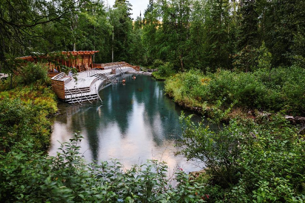 liard hot spring northern british columbia