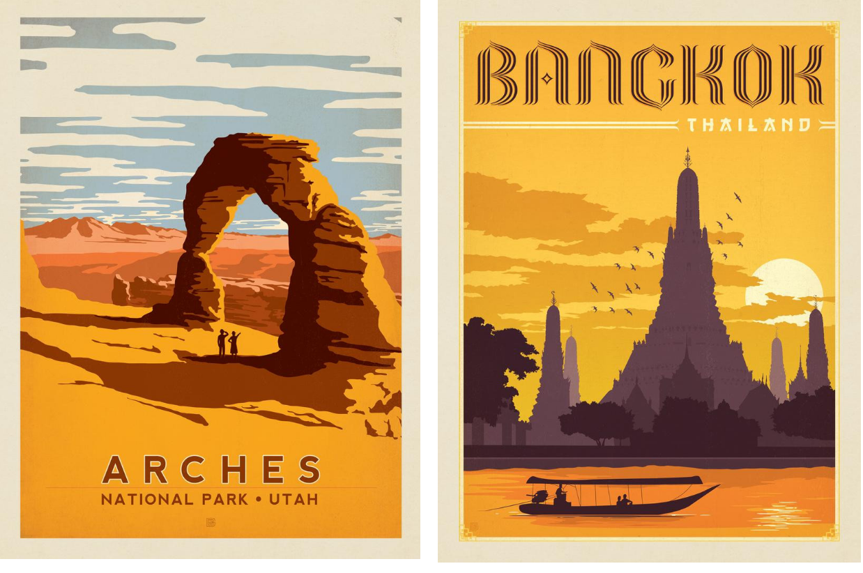 adg travel poster