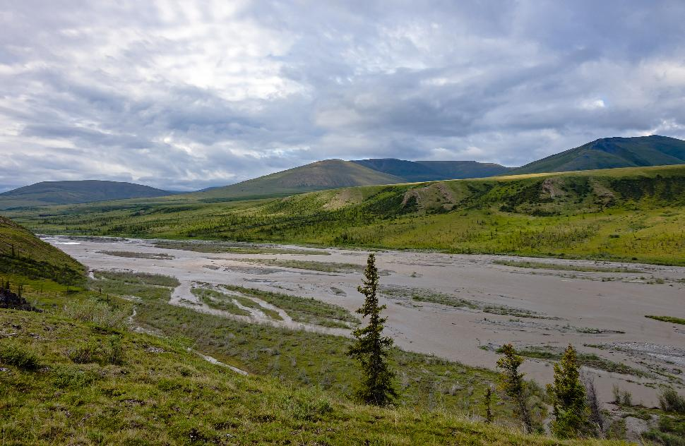 Landscape with Joe Creek, Ivvavik National Park, YT