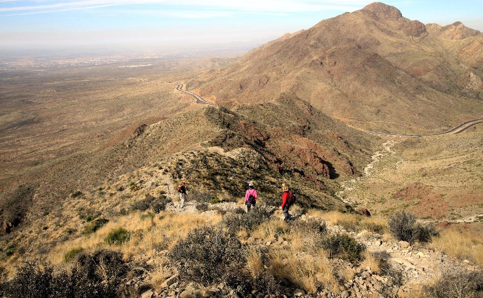 Franklin Mountains State Park hike hiking