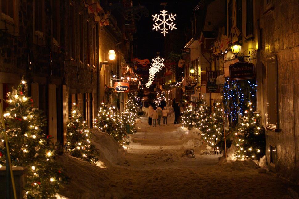 quebec - Quebec City Christmas
