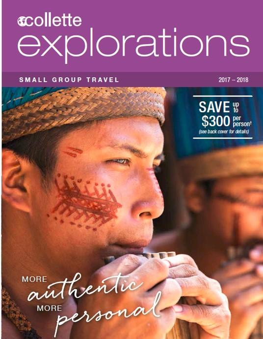 2016 Collette Brochure explorations small group travel